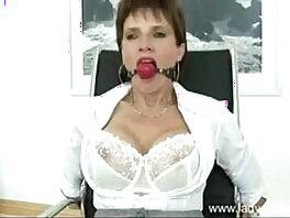 bondage-lady-mature-older woman